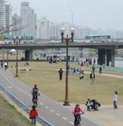 이웃한 35㎞길이 탄천 자전거도로 자출족·인라인스케이터들의 천국