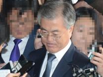 """문재인 검찰 출석 """"잡으라는 도둑은 안 잡고 오히려……"""