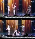 박봄 덤블링, 매끈한 하얀…