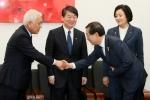 박원순, 金·安 공동대표 예방…선거협조 요청
