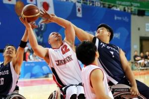 [인천APG] 한국 휠체어농구, 일본 꺾고 금메달