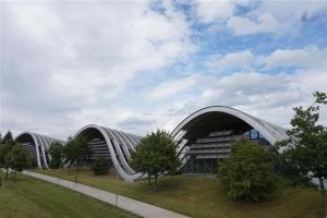 [함혜리 선임기자의 미술관 건축기행] <14> 스위스 베른 '파울 클레 센터'