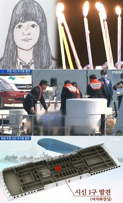 News report of Sewol ferry accident