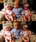 '어떻게 된 거지?' 쌍둥…