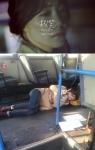 """최희, 버스에 누워 """"엉엉…"""