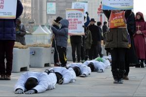 전태일 열사 동생, 집회·시위법 위반 혐의로 체포