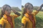 박신혜, 등산복 입고 블링…