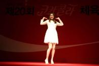 [현장영상]손연재 '까탈레나' 춤으로 수상 세리머니