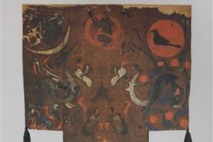 [세계의 조형예술 龍으로 읽다] <12>중국 마왕퇴 출토 비단 그림 / 강우방 일향한국미…