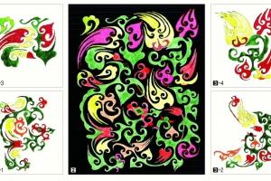 [세계의 조형예술 龍으로 읽다] <13> 마왕퇴 출토 비단 자수 / 강우방 일향한국미술사…
