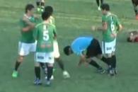 옐로카드 받자 심판 때려 기절시킨 아르헨 축구선수