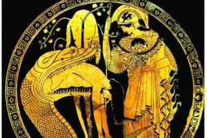 [세계의 조형예술 龍으로 읽다] <22> 그리스 도기에 보이는 드라콘 / 강우방 일향한국…
