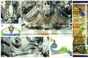 [세계의 조형예술 龍으로 읽다] <23> 프랑스 루브르궁전 입구의 용 / 강우방 일향한국…