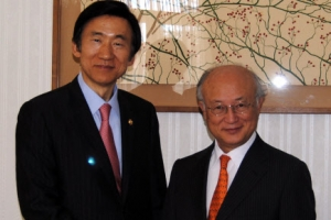 """IAEA 사무총장 """"북핵 프로그램, 심각한 우려"""""""