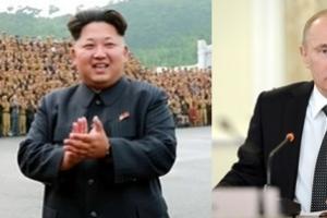 [광복 70주년] 북한 김정은, 광복 70주년 맞아 푸틴과 축전 주고 받았다
