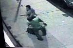 거리 CCTV에 잡힌 두 남성…