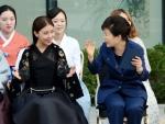 하지원, 박근혜 대통령과 …