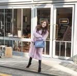 '레인보우' 재경, 솜사탕…