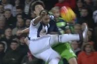 (영상) 얼굴 부딪혀 실려나간 기성용 '아찔했던 충돌…