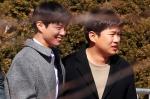 밝은 미소의 박보검-안재…