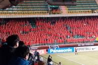[화제의 영상] 일본 축구팬 잠재운 해병대 '위엄'
