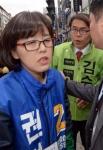 [서울포토]자리 싸움 벌어진 더불어민주당과 국민의당