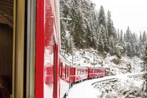 해외여행 | [기차를 타면 스위스가 보인다] 베르니나 익스프레스- 세계문화유산 위를 …