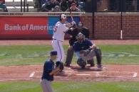 (영상) 김현수, MLB 데뷔 첫 경기에서 멀티히트…득점…