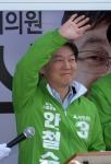 [서울포토] 안철수, 지원유세