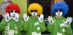 [서울포토]형형색색 뽀글머리 가발쓰고 유세하는 선거운동원