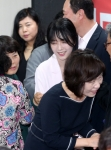 [서울포토]유승민 후보를 '국민 장인'으로 만든 유담씨