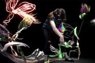 구글이 공개한 가상현실 그림판 '틸트 브러시'