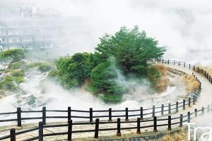 해외여행 | 나가사키현 시마바라 반도 운젠雲仙의 3가지 선물③水 운젠온천 & 운젠지옥…