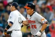(영상) 김현수 2경기 연속 홈런, 이대호는 1안타 2타점…