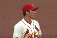 (영상) 오승환, MLB 첫 세이브…한국인 첫 한미일 세이…