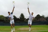 브라이언 형제 시선으로 본 테니스 코트…생생한 현장…