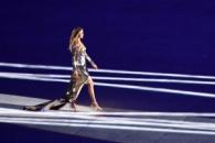 (영상) 리우 올림픽 개막식, 브라질 톱모델 지젤 번천…