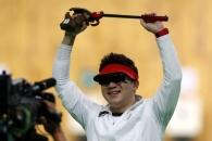 (영상) 진종오, 50m 권총 금메달…세계 사격 첫 올림픽…