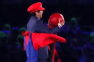 리우올림픽 폐막식 등장한 '슈퍼마리오'…알고보니 아베 日총리