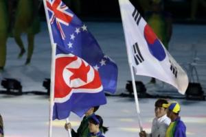 레슬링 김현우·윤원철, 리우올림픽 폐막식에 함께 입장한 남북 기수