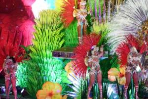 리우올림픽 폐막식, 브라질은 역시 '삼바'…폭우도 못말린 세계인의 축제