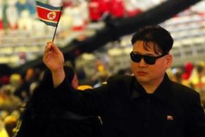 北 김정은, 리우올림픽 폐막식 참석?…인공기 흔들며 취재진에 포즈