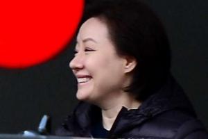 '신격호 세번째 부인' 서미경, 롯데비리 재판 출석