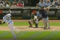 (영상) 이대호, 시즌 8번째 2루타…타율 0.266