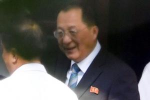 리용호 북 외무상, 베이징 도착…中 고위급 접촉 관심