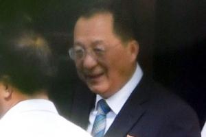 北 리용호 '베이징 1박2일'… 中 고위급 만날까
