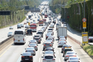 """도공  """"고속도로 차량 평균 주행속도 86㎞"""""""