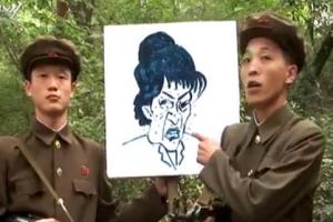 北, 박대통령 얼굴그림으로 만든 과녁 공개…대남적개심 선동