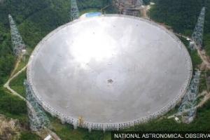 中 세계 최대 전파망원경 시험가동 1년만에 펄서 발견