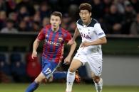 (영상) 손흥민, UEFA 챔피언스리그 6번째 골…박지성 …